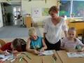Garsiniai skaitymai – aktorė padėjo vaikams mėgautis knygomis