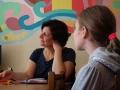 Nuotaikingas pokalbis apie perskaitytas knygas Pasvalyje