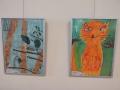 Piešinių parodoje - Prano Mašioto pasakų veikėjai