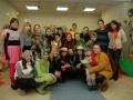 Panevėžio kolegijos studentai, dovanoję puikią nuotaiką