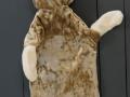 Andromedos  pasiūtas  meškiukas Tobijas