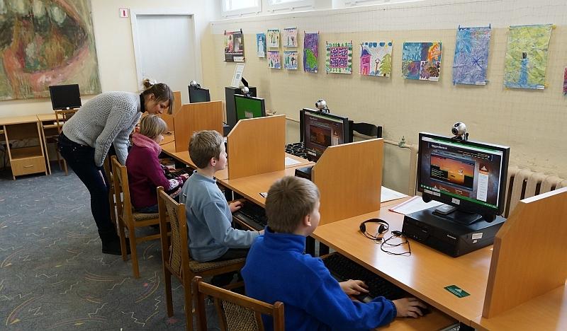 Mokymai jauniesiems kompiuterių fanams!