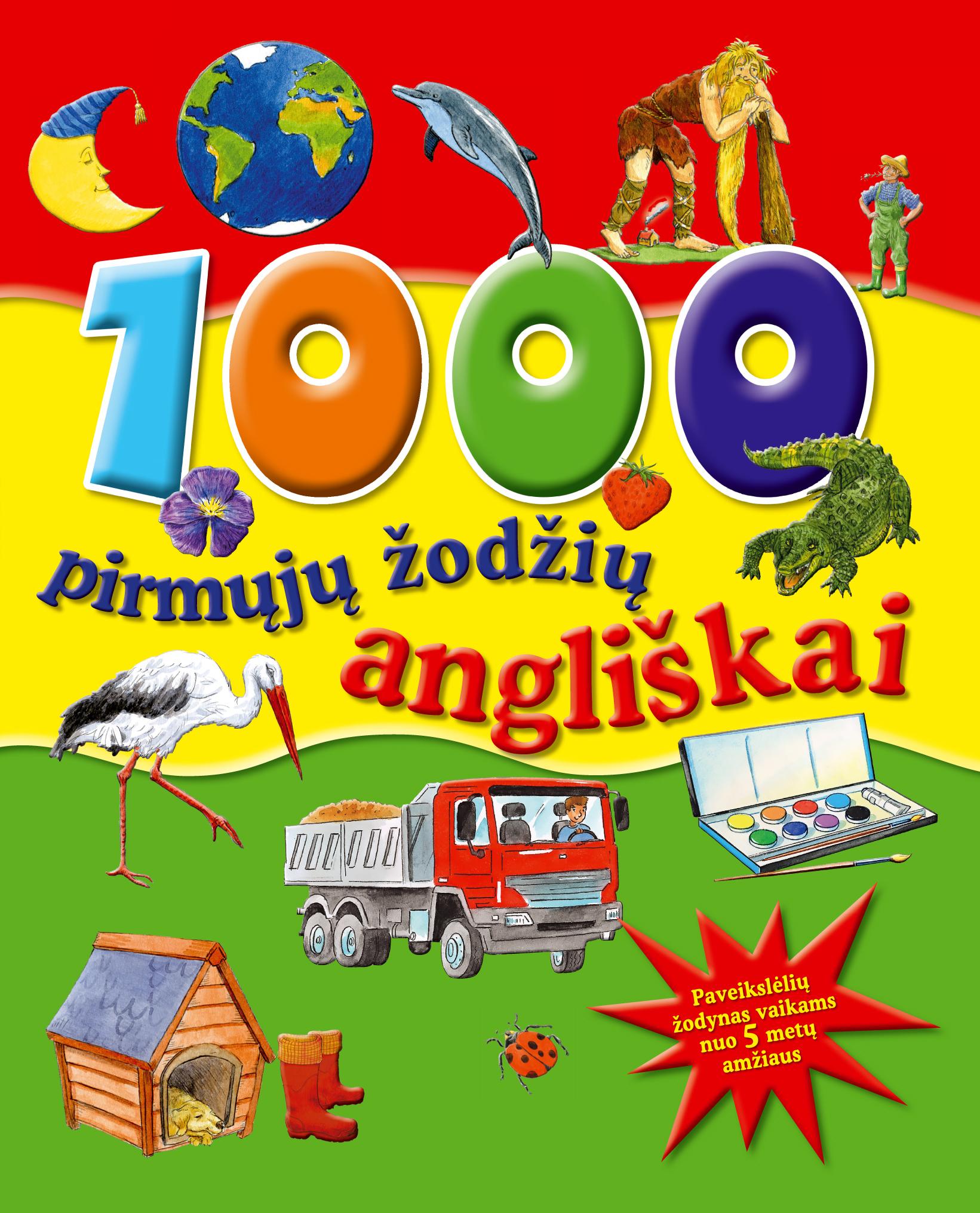 1000 pirmųjų žodžių angliškai
