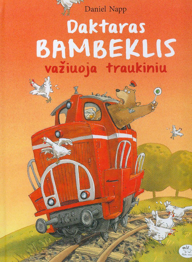 Daktaras Bambeklis važiuoja traukiniu