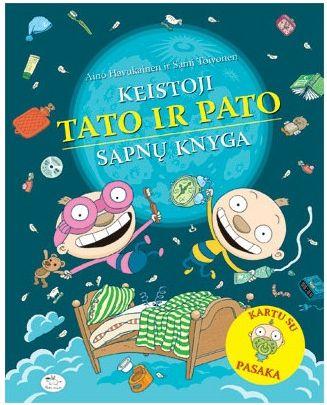 Keistoji Tato ir Pato sapnų knyga