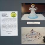 "Nuotraukose – plenero ""Sniego karalystėje"" sniego ir ledo skulptūros"