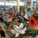 Vasaros vaikai bibliotekoje