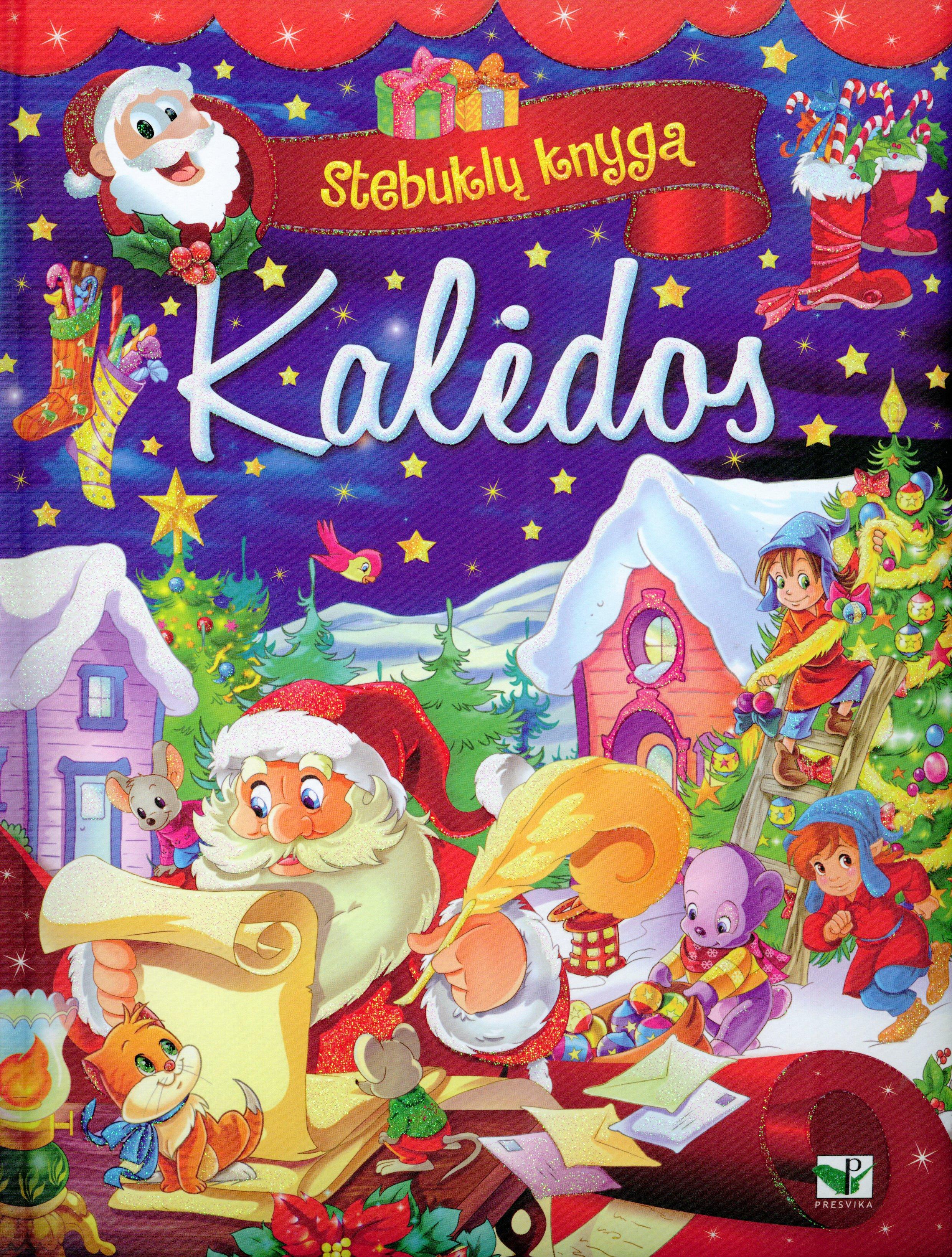 Kalėdos : stebuklų knyga