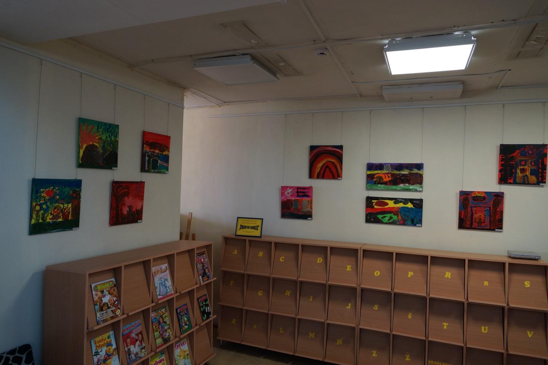 Vaikų ir jaunimo literatūros centre mažylių jausmai ir mintys…