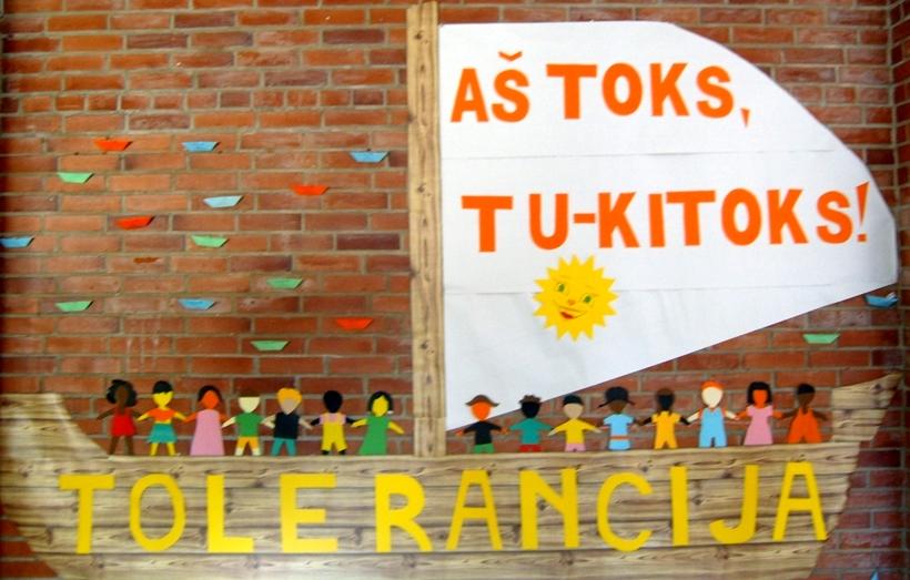 Minime tarptautinę  Tolerancijos dieną