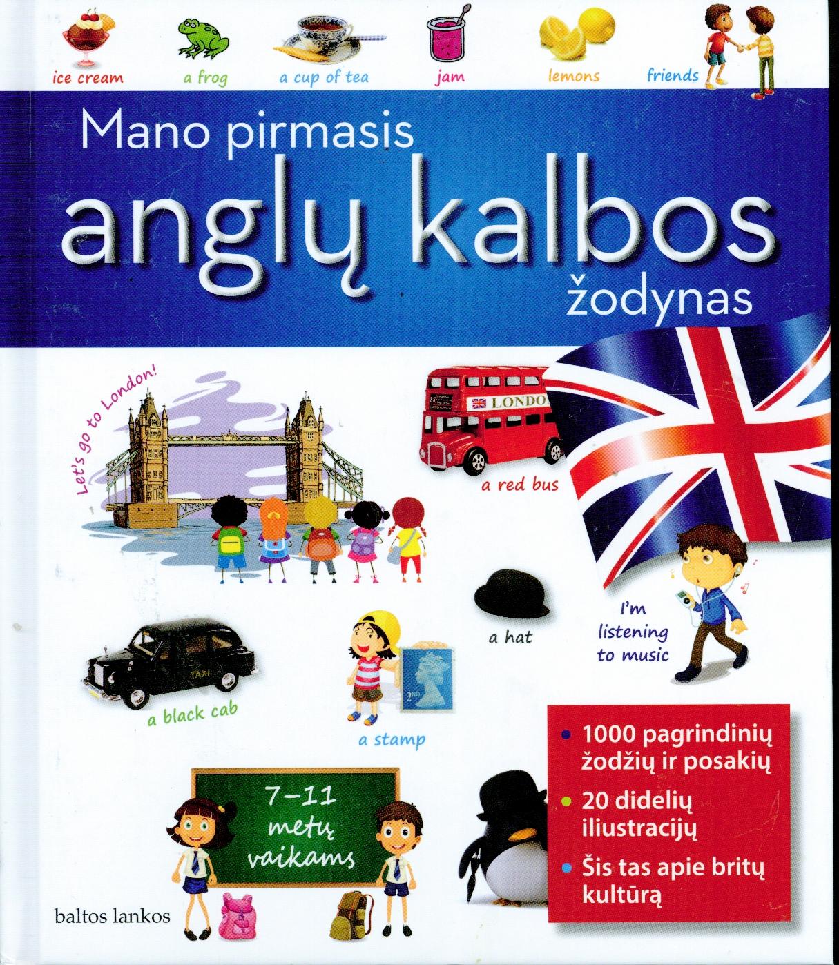 Mano pirmasis anglų kalbos žodynas