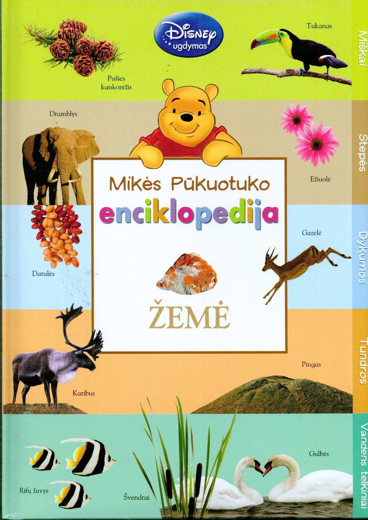 Mikės Pūkuotuko enciklopedija. Žemė