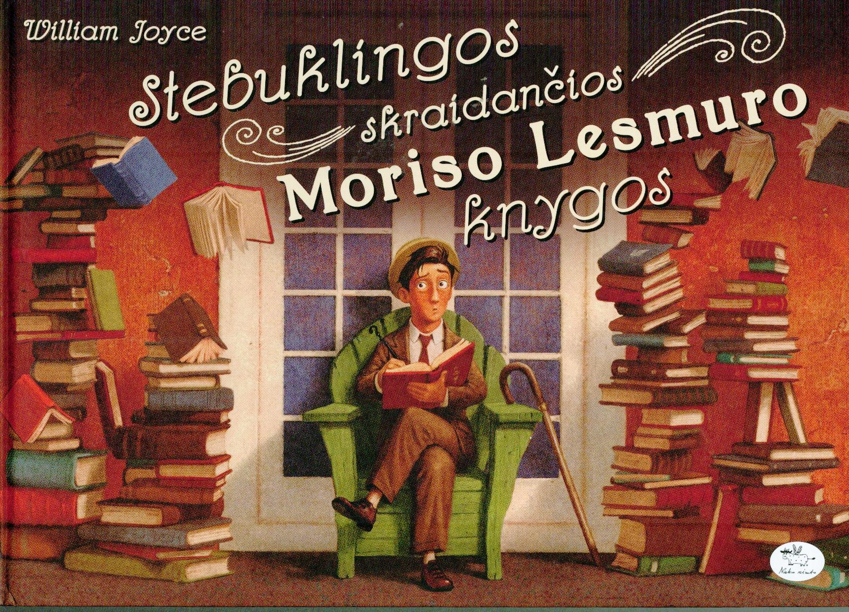 Stebuklingos skraidančios Moriso Lesmuro knygos