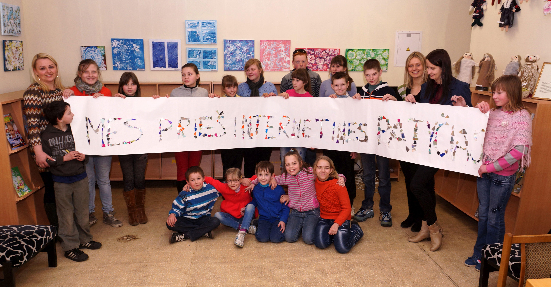 """Vaikų ir jaunimo literatūros centre """"Veiksmo savaitė BE PATYČIŲ"""""""