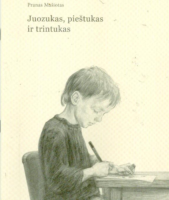 Juozukas,pieštukas ir trintukas