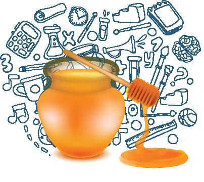 Bičiulystė. Medus