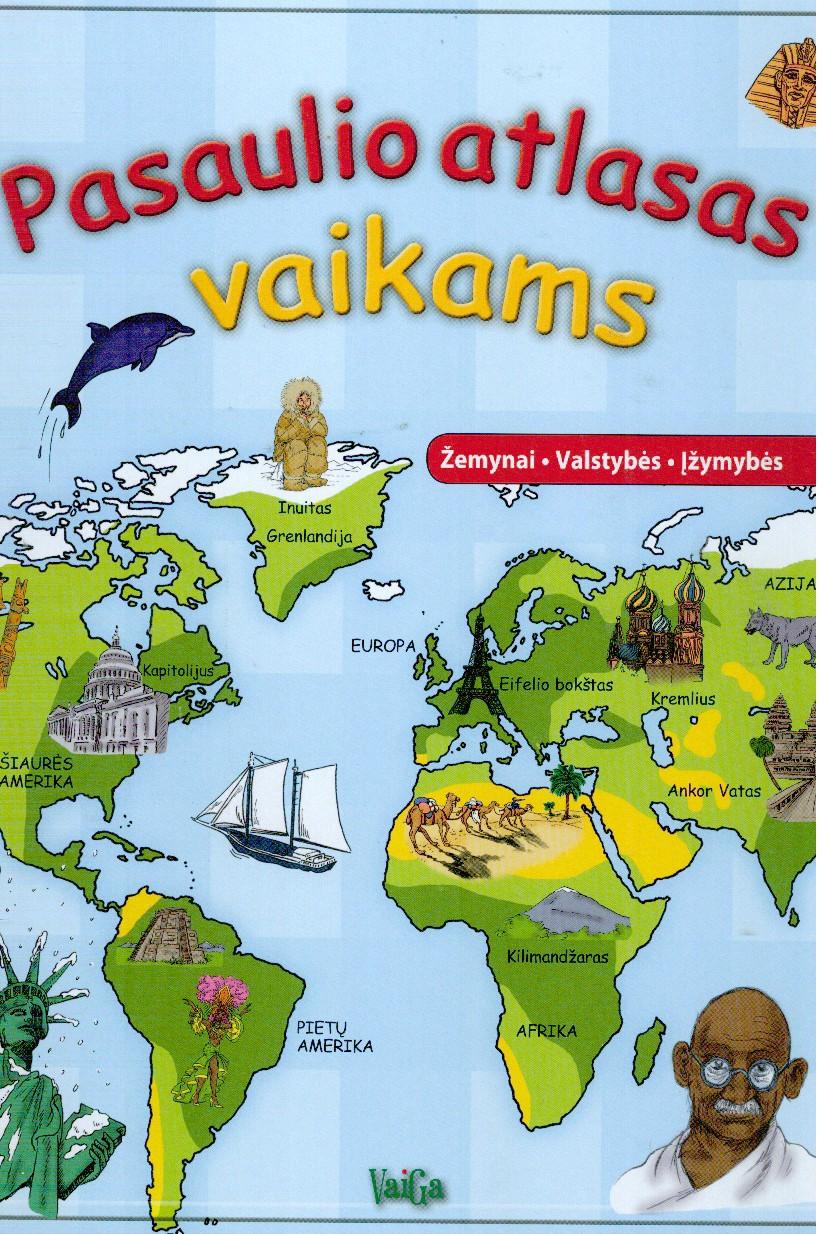 Pasaulio atlasas vaikams