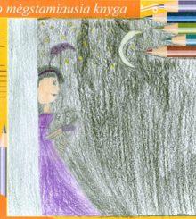 """""""Ada ir peliuko šmėkla"""" – piešinys"""