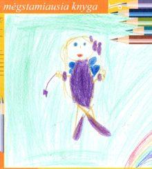 """Violija - violetinė fėja"" – piešinys"
