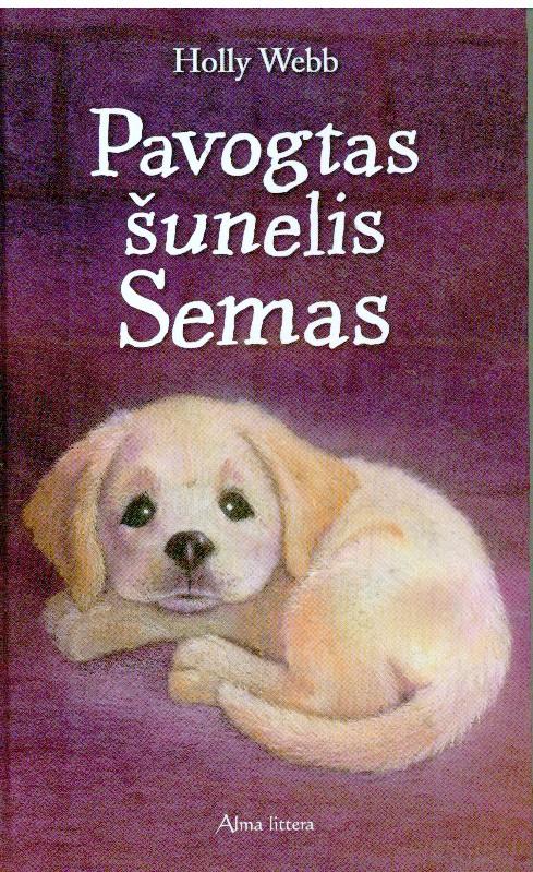 Pavogtas šunelis Semas