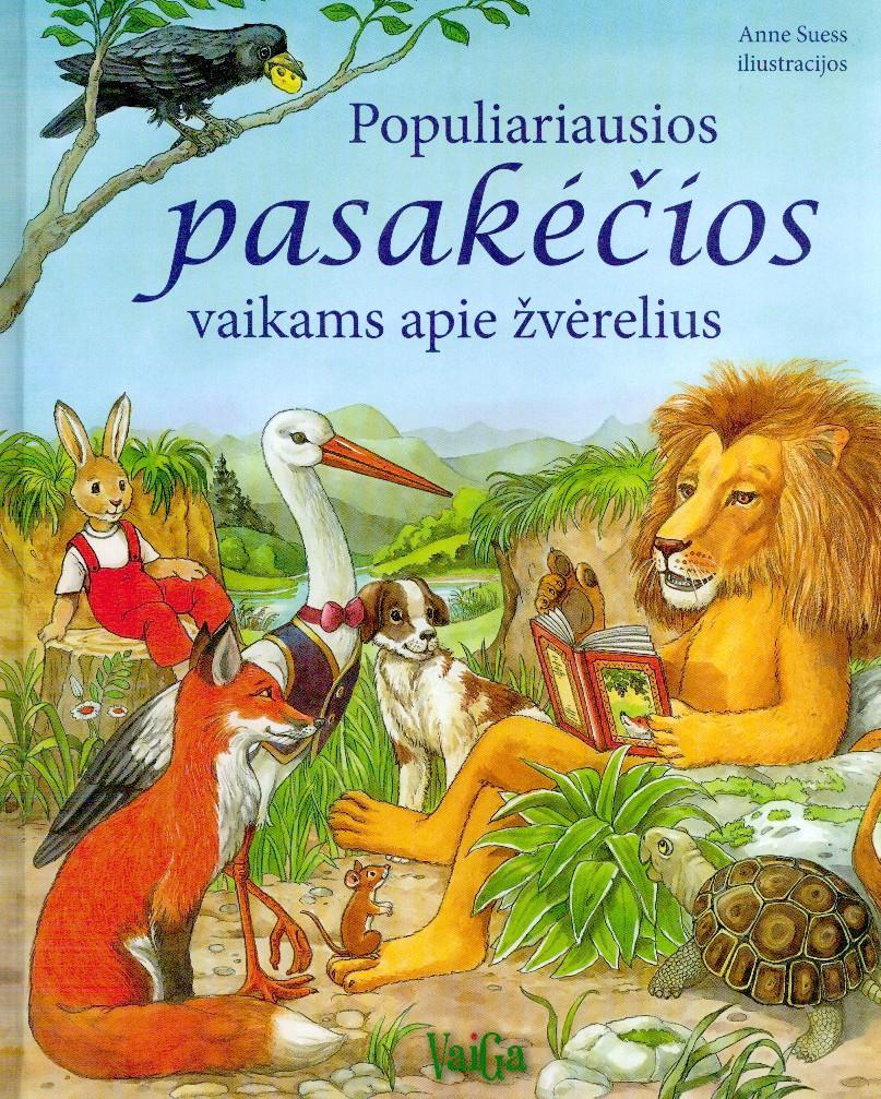 Populiariausios pasakėčios vaikams apie žvėrelius
