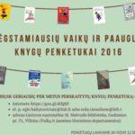 Rink geriausių per metus perskaitytų knygų penketuką