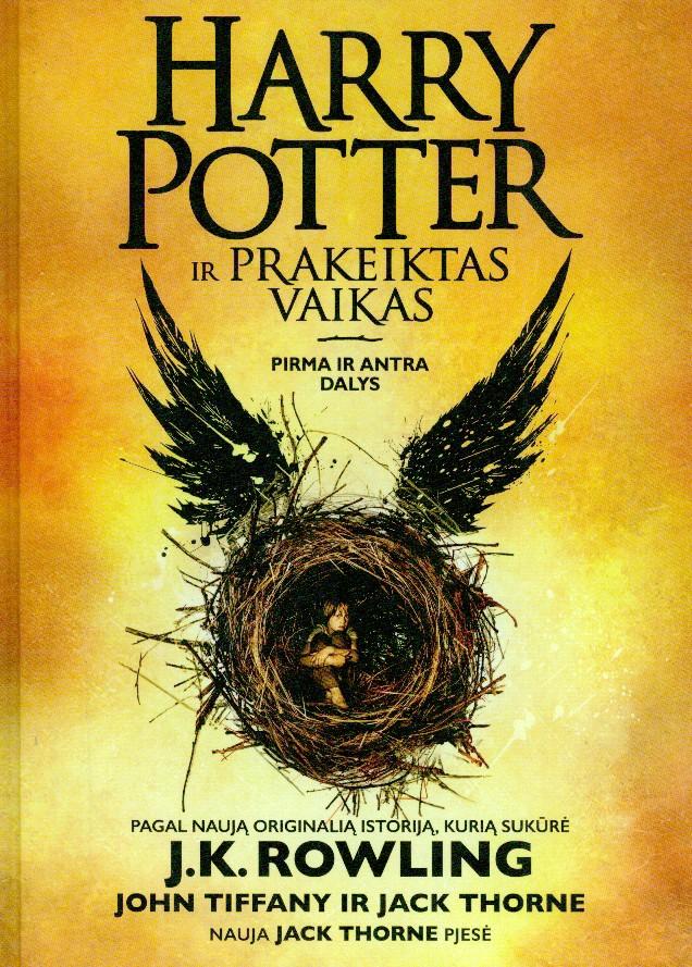 Harry Potter ir prakeiktas vaikas : pirma ir antra dalys