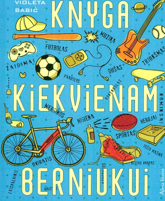 Knyga kiekvienam berniuku