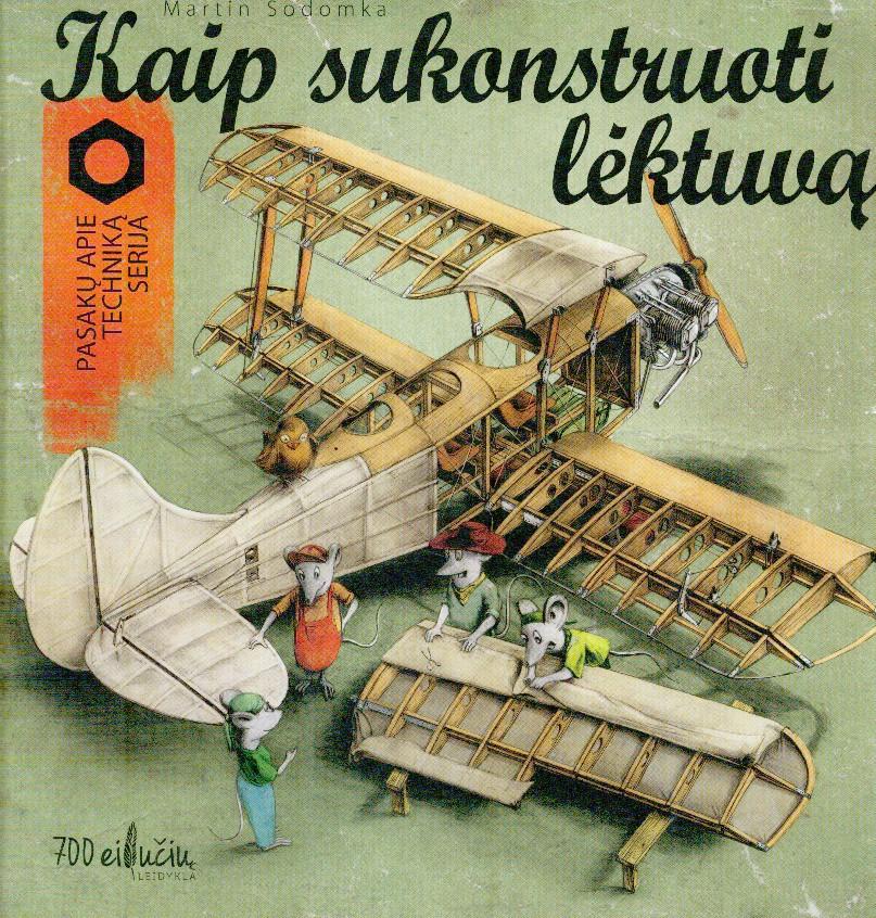 Kaip sukonstruoti lėktuvą