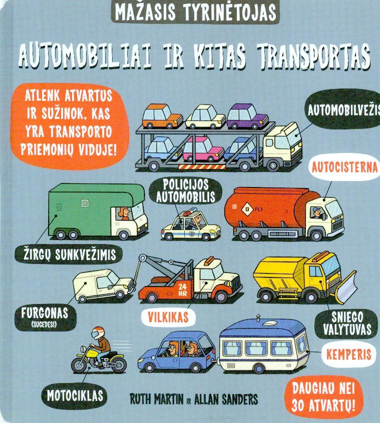 Automobiliai ir kitas transportas