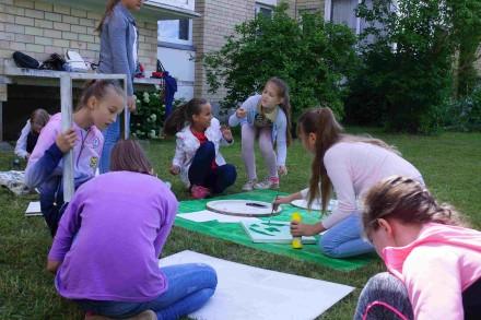 Žaliai žydri stovyklautojų nuotykiai tęsiasi…