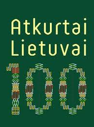 """Konkurso """"Atkurtai Lietuvai – 100"""" kryžiažodžiai"""