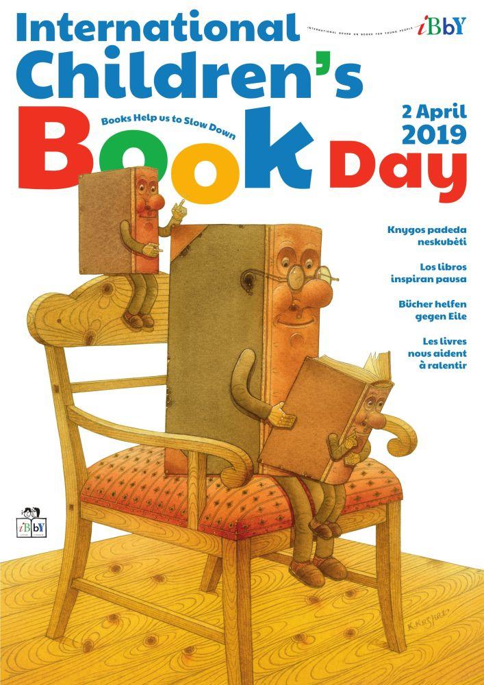Balandžio 2-oji – Tarptautinė vaikų knygos diena