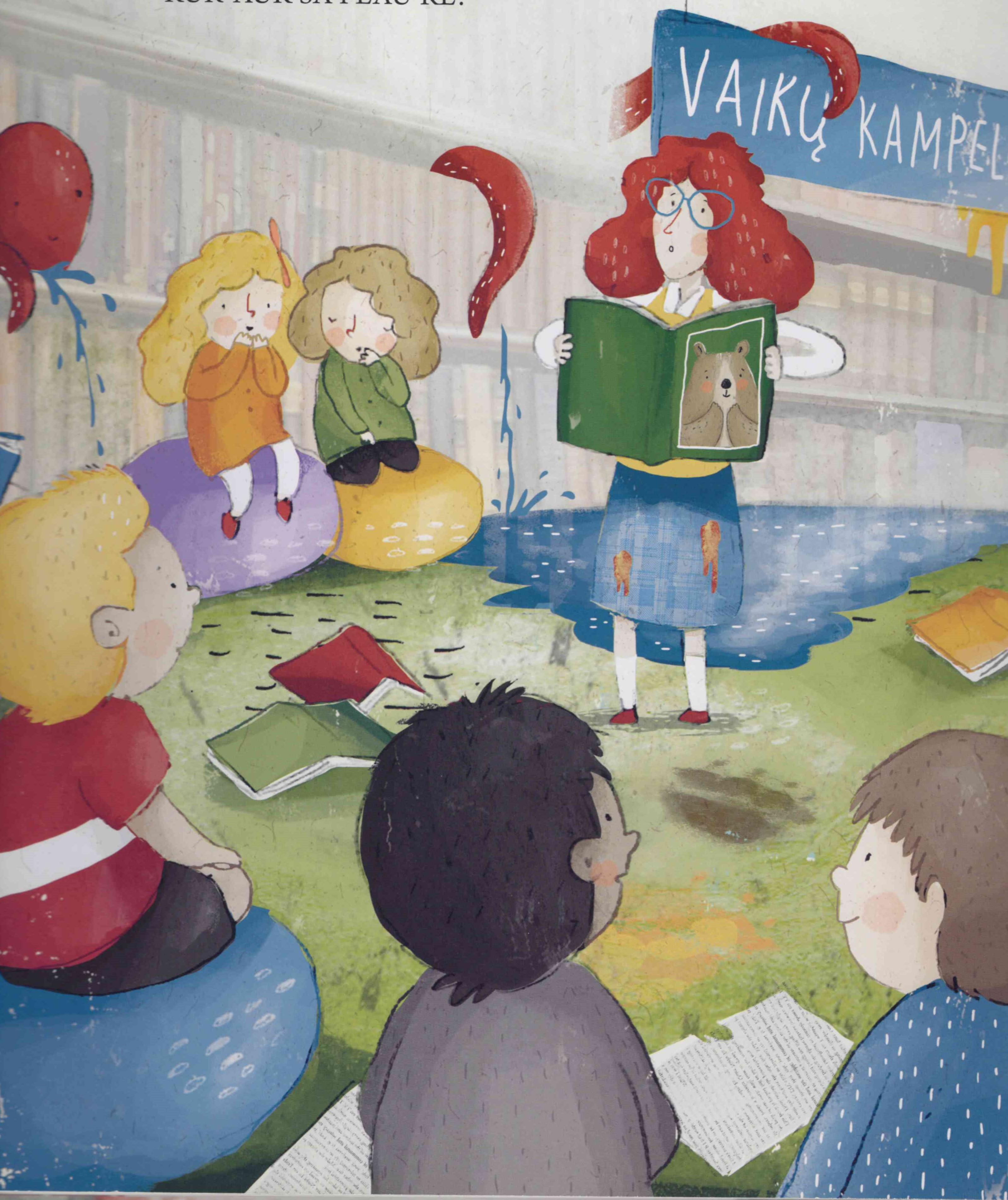 Išradingiausiai atšventusiems Tarptautinę vaikų knygos dieną – prizas!