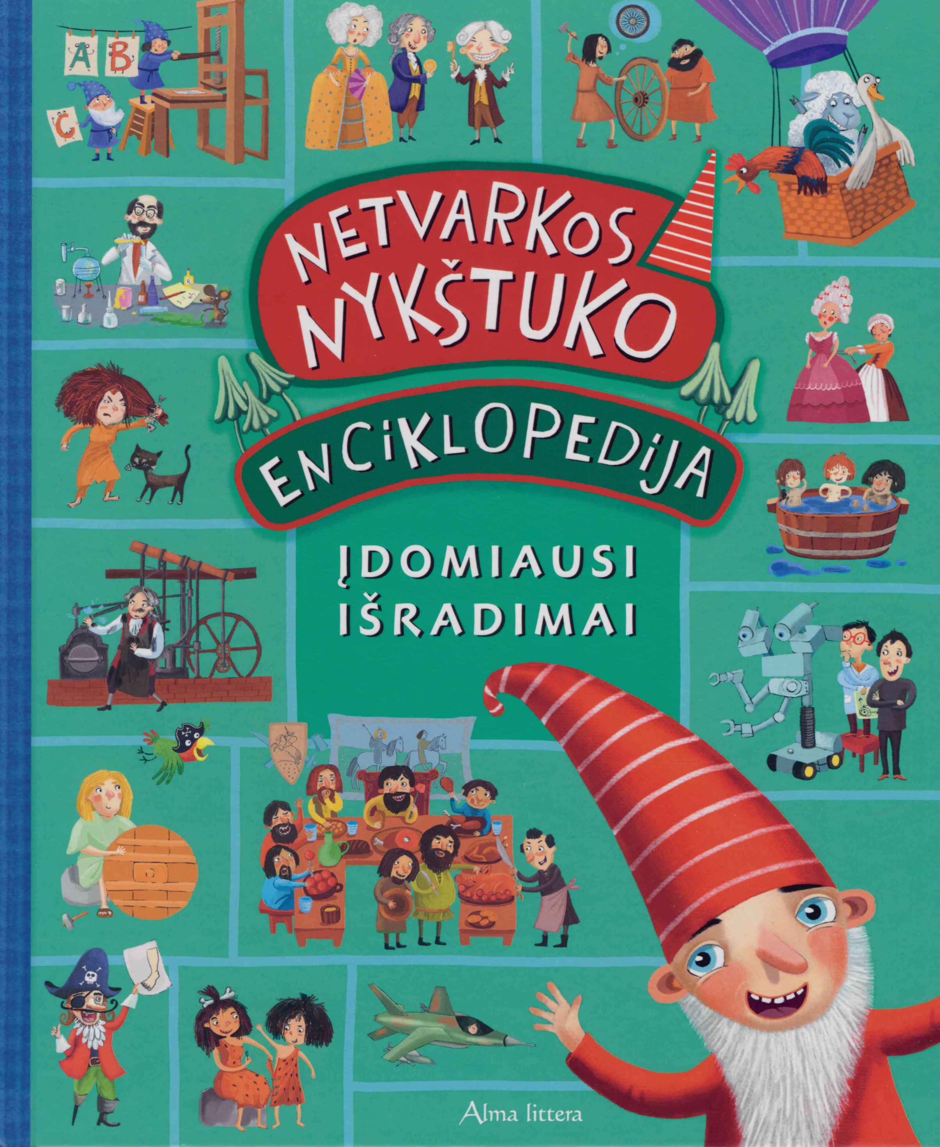 Netvarkos nykštuko enciklopedija : įdomiausi išradimai