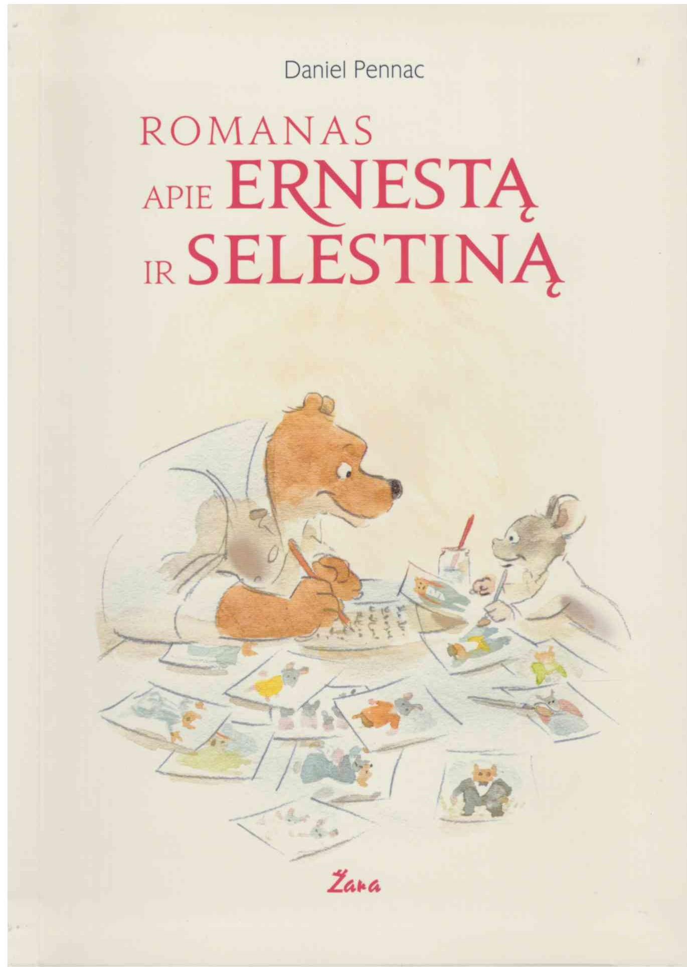 Romanas apie Ernestą ir Selestiną