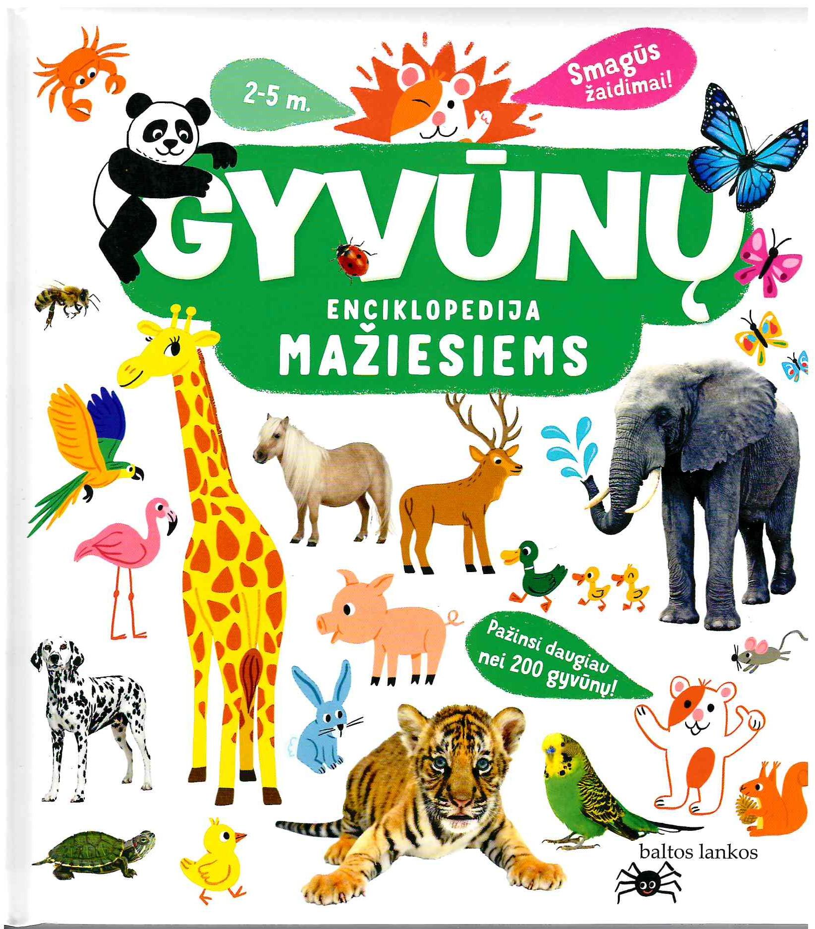 Gyvūnų enciklopedija mažiesiems