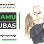 Mamų klubas kviečia susitikti