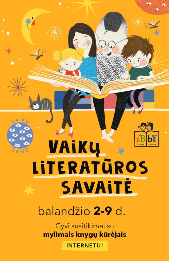 Švęskime Tarptautinę vaikų knygos dieną visą savaitę