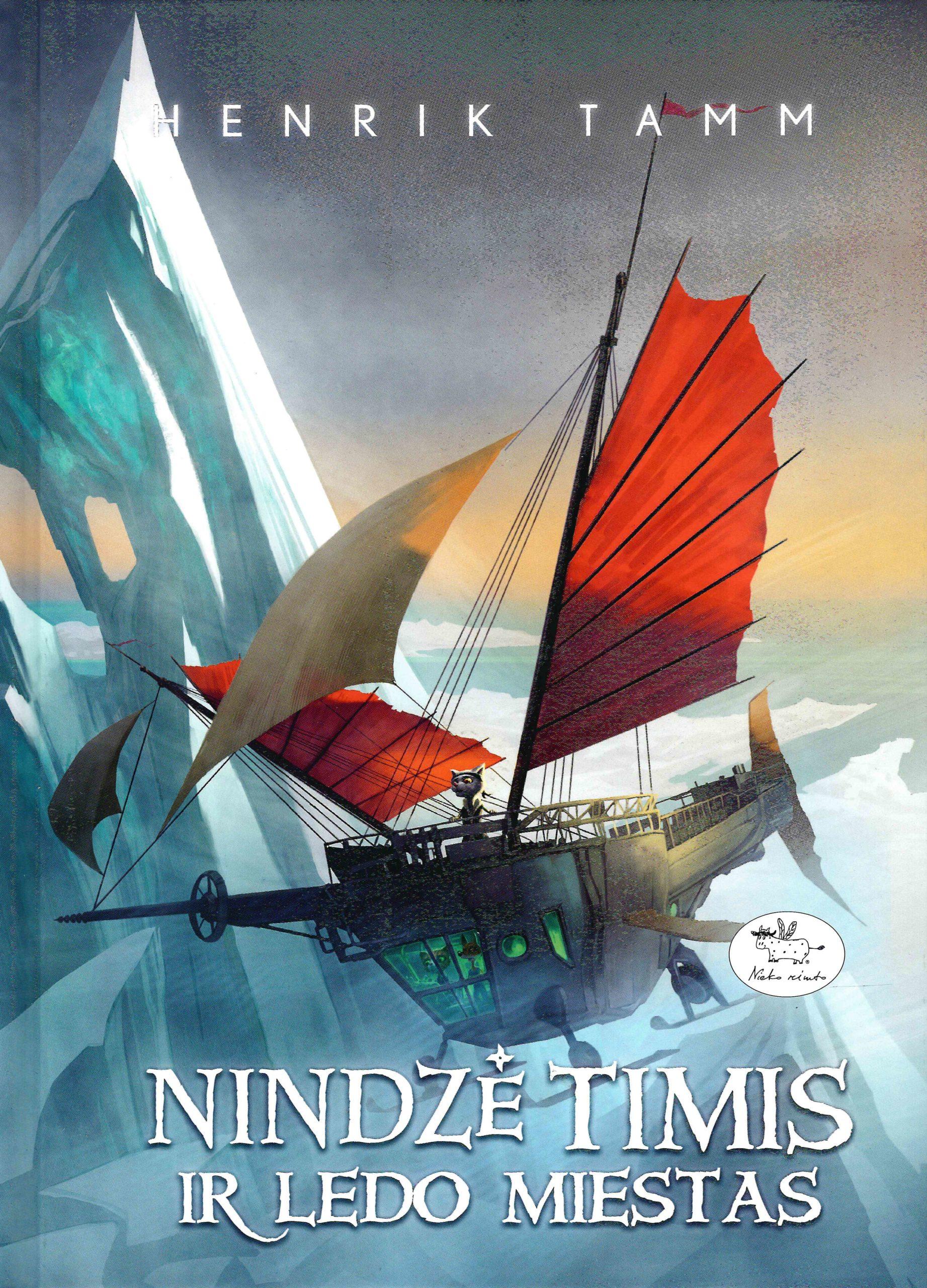 Nindzė Timis ir Ledo miestas