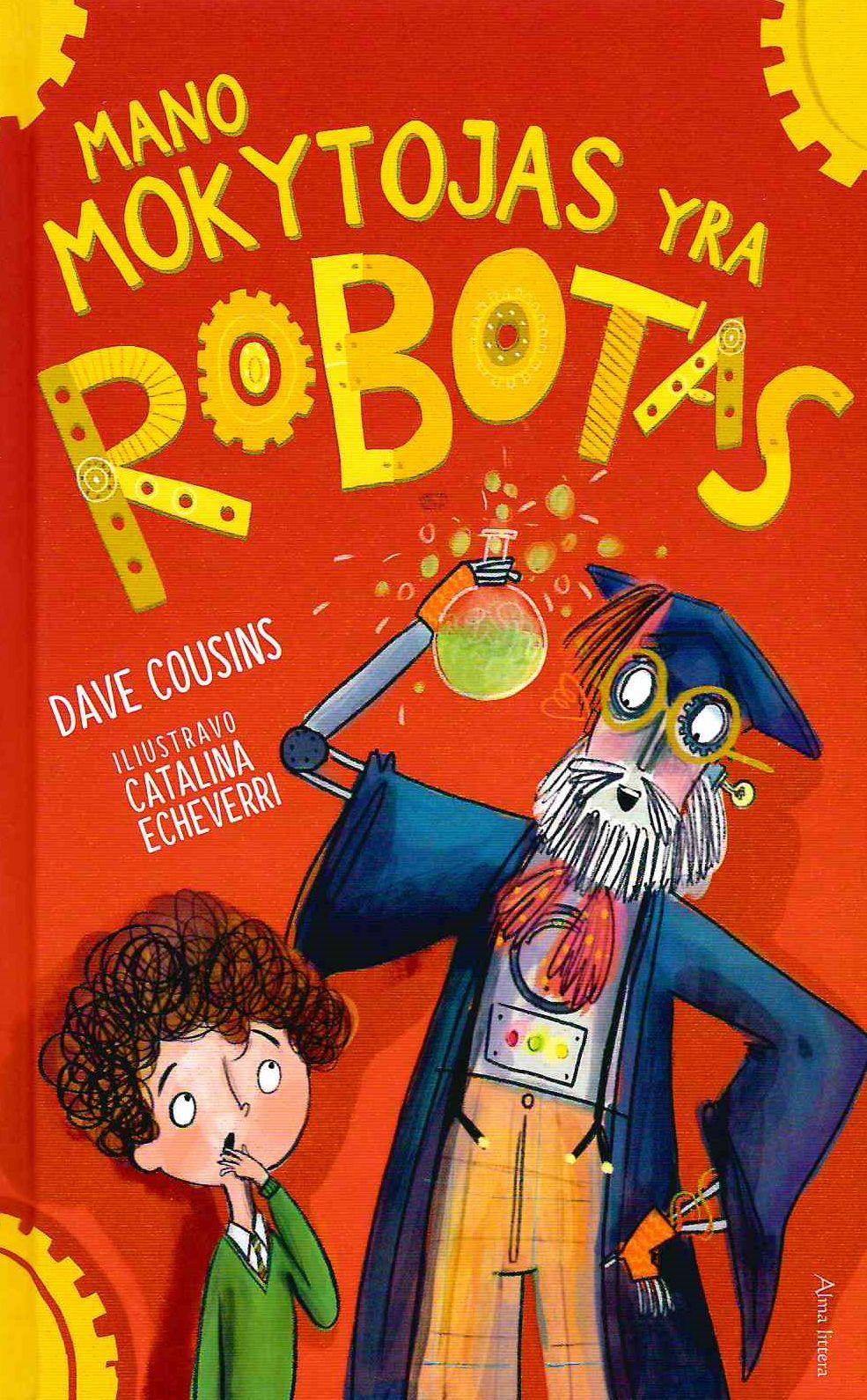Mano mokytojas yra robotas