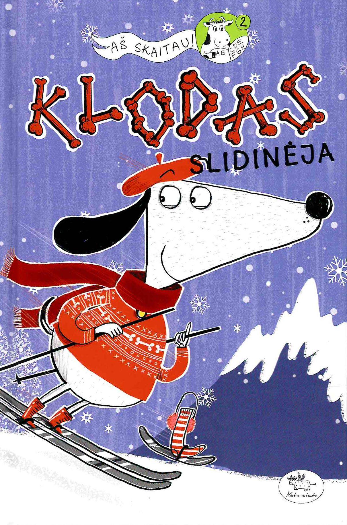 Klodas slidinėja