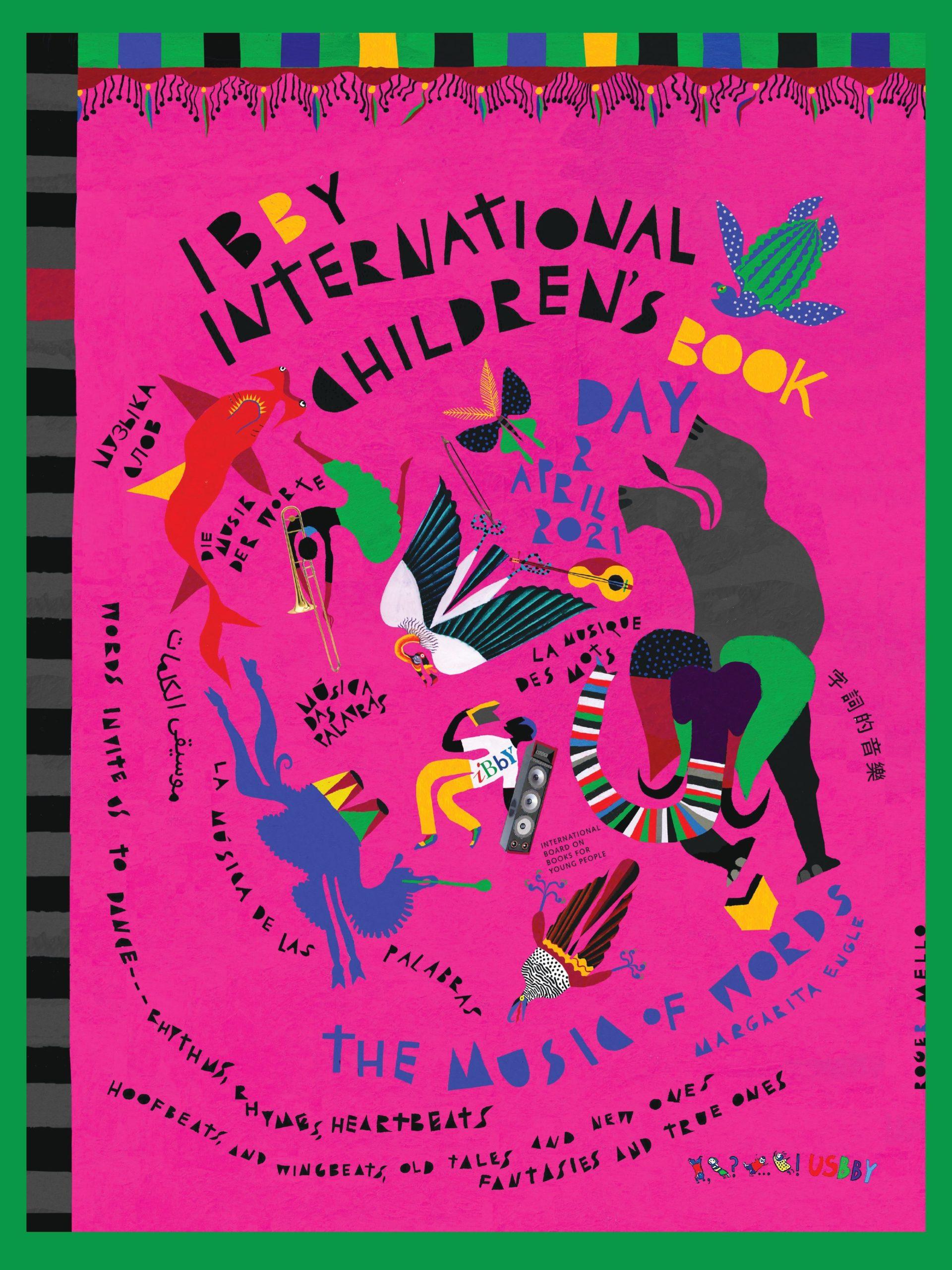 Švęskime Tarptautinę vaikų knygos dieną!
