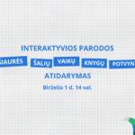 """Iškilmingai atidaryta interaktyvi paroda """"Šiaurės šalių vaikų knygų potvynis"""""""