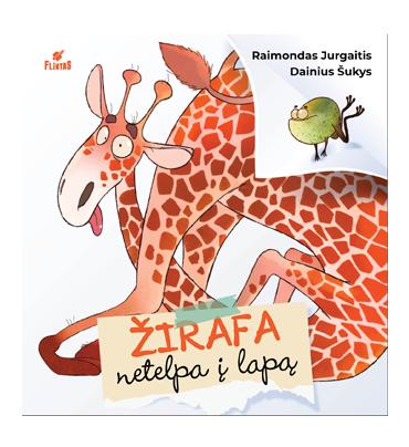 Žirafa netelpa į lapą
