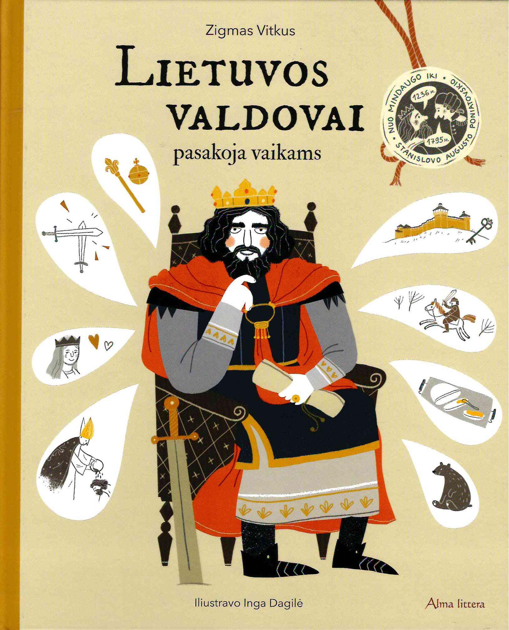 Lietuvos valdovai pasakoja vaikams